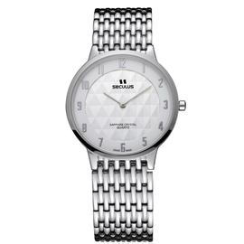 Мужские часы Seculus 4475.1.106 white, фото 1