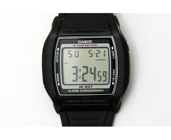 Мужские часы Casio W-201-1AVEF, фото 2