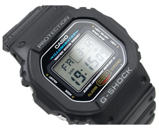 Мужские часы Casio DW-5600E-1VER, фото 2