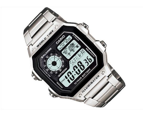 Мужские часы Casio AE-1200WHD-1AVEF, фото