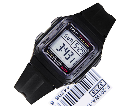 Мужские часы Casio F-201WA-1AEF, фото 2