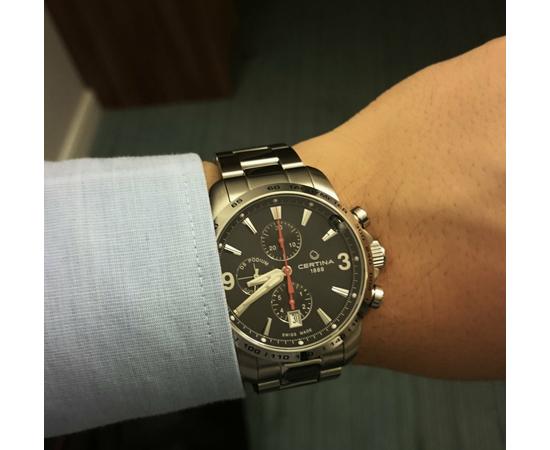 Мужские часы Certina c001.427.11.057.00, фото 5