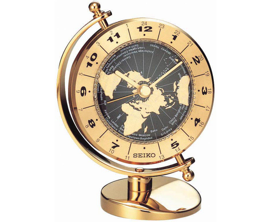 Настольные часы Seiko QHG106G, фото