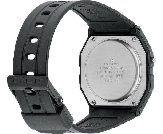 Мужские часы Casio F-91W-1YEG, фото 2