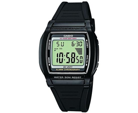 Мужские часы Casio W-201-1AVEF, фото